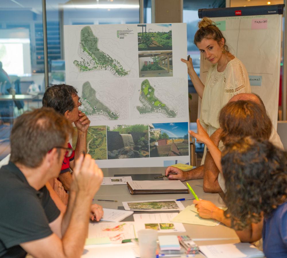 Ecoquartier Sakamoto: ateliers de concertation à la SIC