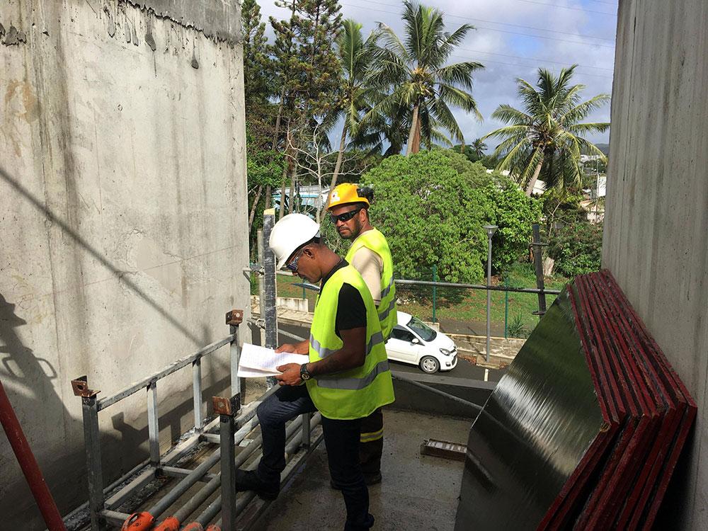 Visite de futurs « chargés de chantier »