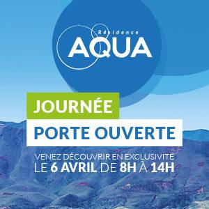 Portes ouvertes résidence Aqua