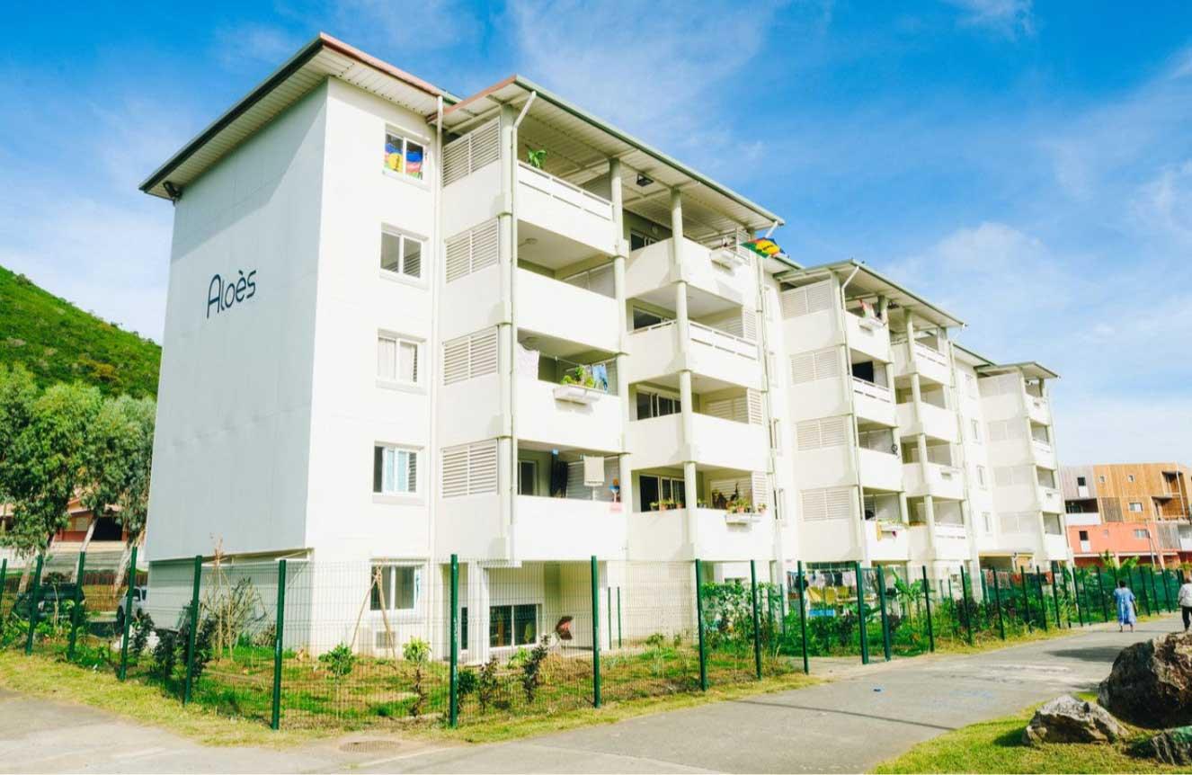 Inauguration immeuble Aloès