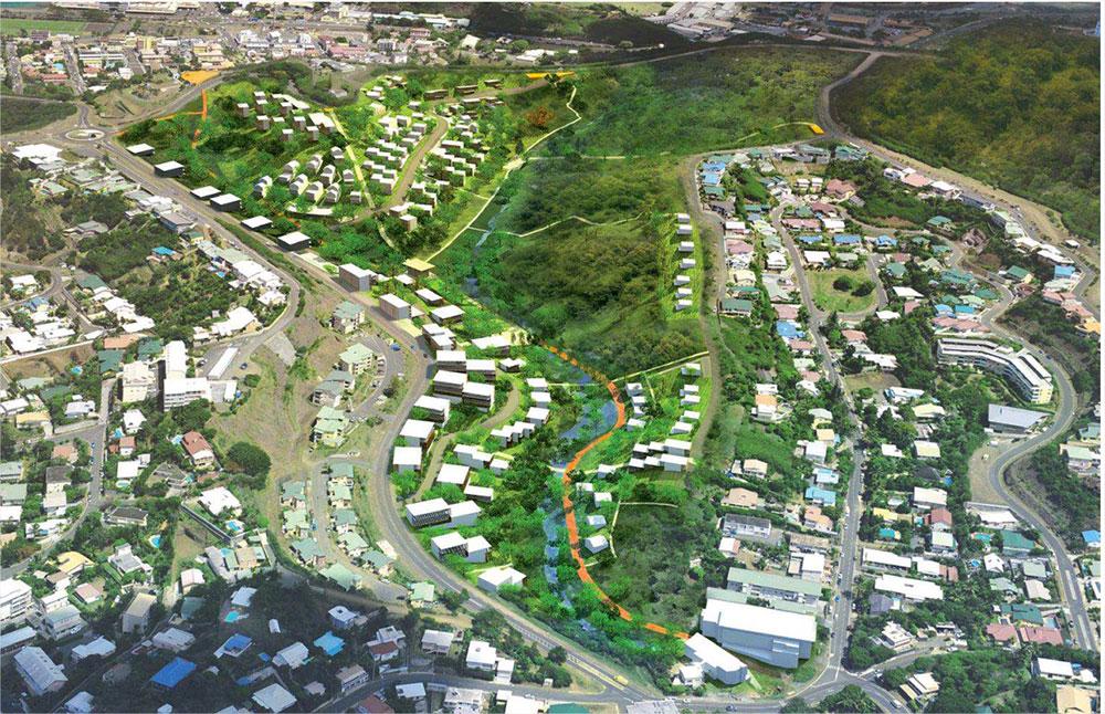 Appel à projets architecte-promoteurs pour l'Ecoquartier Sakamoto
