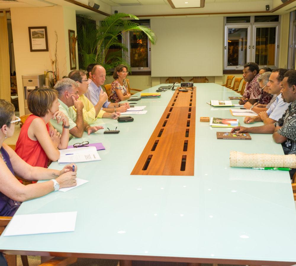 Un ministre vanuatais en mission en Nouvelle-Calédonie