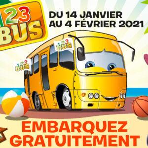 """VACANCES POUR TOUS – la SIC partenaire de l'opération """"Bus 123"""""""
