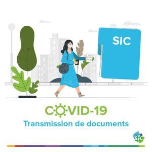 Covid-19 ] Transmission de documents