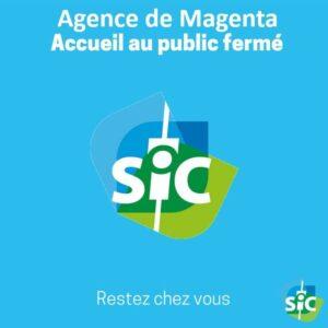 L'agence de Magenta est provisoirement fermée