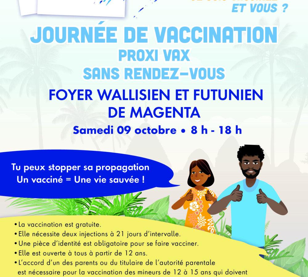 PROXI VAX au foyer Wallisien et Futunien de Magenta